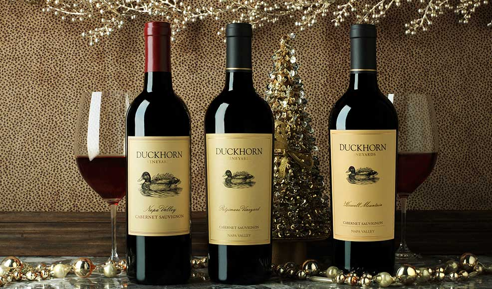 Tinsel, Tidings and Tastings Event at Duckhorn