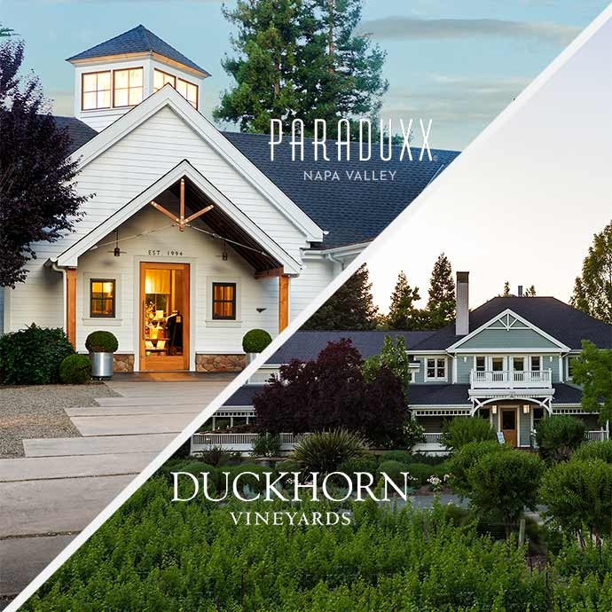 Plan a day of duckhorn at two wineries