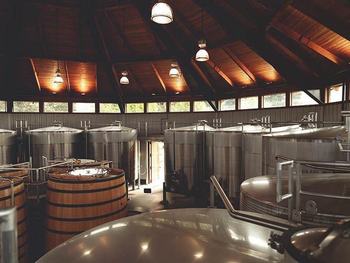 Paraduxx fermentation building