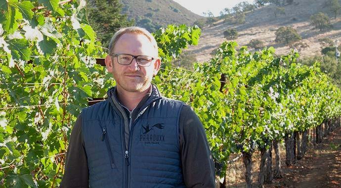Paraduxx Winemaker Cardiff Scott-Robinson