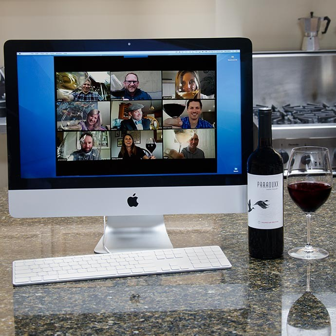 Virtual wine tastings with Paraduxx